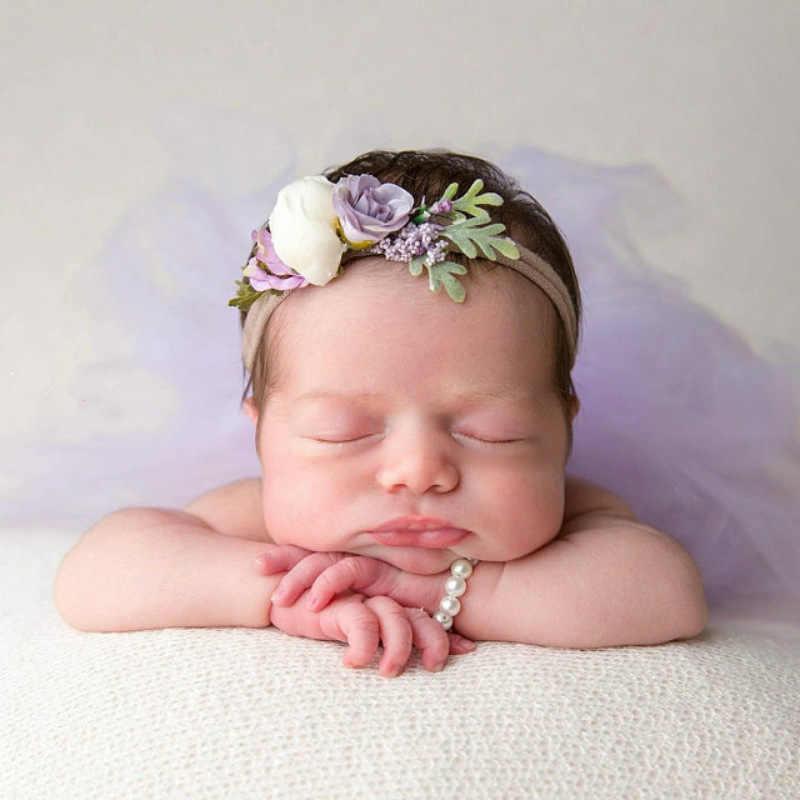 יילוד צילום Props תינוקת פרל צמיד + בגימור סט תינוקות בגדי צילומי אביזרי תינוקות תינוק מתנה