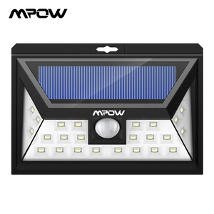 Mpow CD011 24 LED Solar Light Lamp IP65 Waterproof Outdoor Wide Angle Motion Sensor Lamp With 3 Modes For Patio Garden Pathway