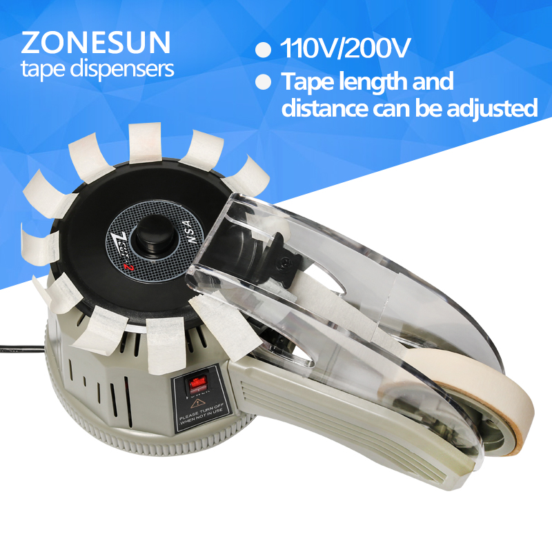 ZONESUN ZCUT-2 Industrial Tape Dispensing machine Auto Tape dispensers Automatic Tape Cutters