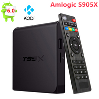Origianl T95X Android 6 0 TV Box KODI17 1 Amlogic S905X Quad Core 4K 2 4G