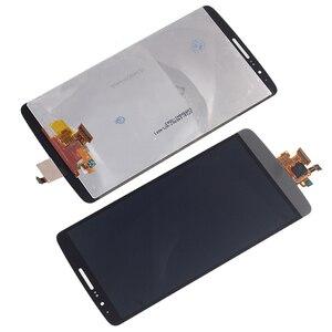 Image 2 - Pour LG G3 LCD affichage IPS avec cadre écran tactile numériseur composant remplacement pour LG G3 D850 D851 D855 téléphone outils