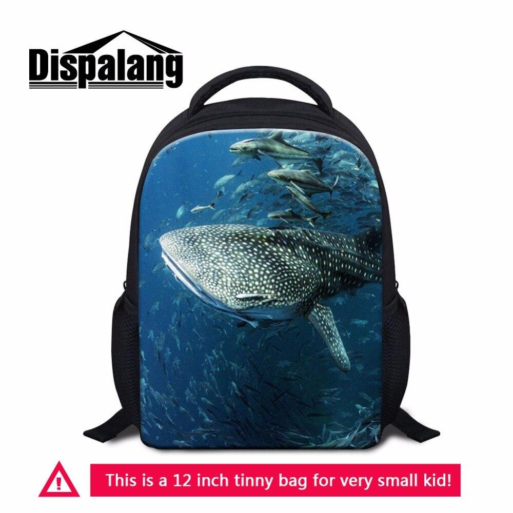 Dispalang Симпатичные Акула рюкзак для детского сада Дети Школа BookBag мини-рюкзак для детей дорожная Duffle Bag девчушки Mochilas