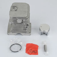 CYLINDER PISTON PIN KIT FITS STIHL MS180 018 066 MS660 MS650 CRAFTSMAN CHAINSAW 38mm RINGS CLIPS PIN REBUILD