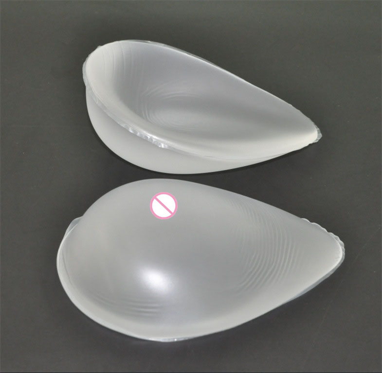 1pair 900g C cup Transparent Artificial Silicone Breast Forms Fake boobs Tits Silicome gel Bra Pad invisible Insert bust pads gathering seamless invisible spandex silicone nubra leopard b cup