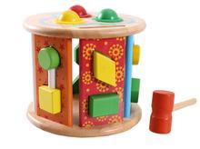Round shape multifunctional geometry wooden