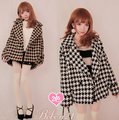 Princess sweet lolita coat BOBON21 winter Plover thick Lambs wool inside Thick fabric Super Warm coat overcoat C1133