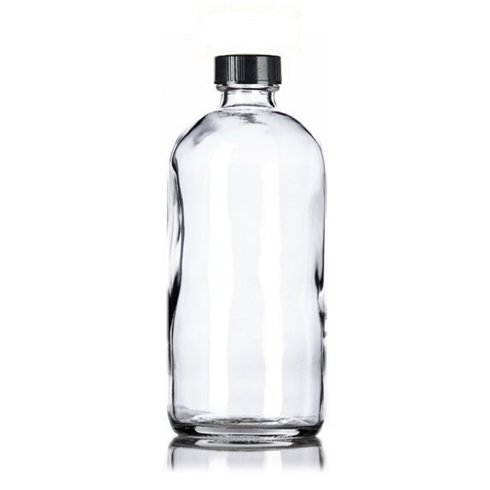 Image 4 - 4pcs 500ml Clear Glass Spray Bottles 16oz Empty Refillable Mist Stream Trigger Sprayer Containers for Essential Oils CleaningRefillable Bottles   -