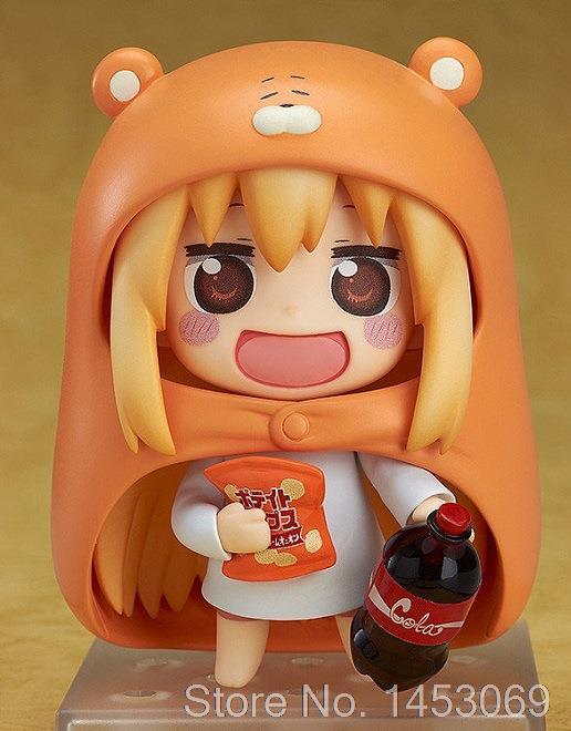 Nendoroid Himouto! Umaru-Chan Doma Umaru #524 PVC Action Figure Collection Model Toy Doll 4 10cm KT1677 anime one piece dracula mihawk model garage kit pvc action figure classic collection toy doll