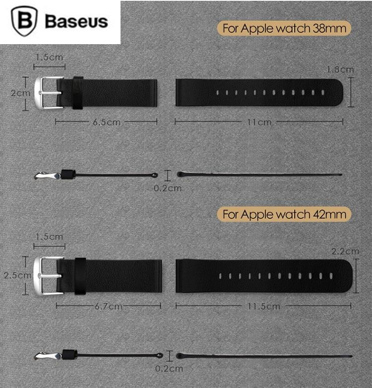 Aliexpress.com : Buy Two sizes Original Baseus Black WatchBand For ...