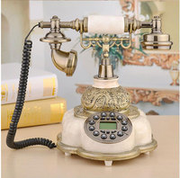Fashion resin Phone Antique Landline Telephone Vintage Home Phone Fitted Landline office bedroom Telefone With Europe style