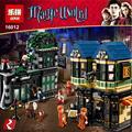 Lepin 16012 Edición Limitada Serie de Harry Potter El Callejón Diagon Set 10217 Bloques de Construcción Ladrillos Juguetes Educativos