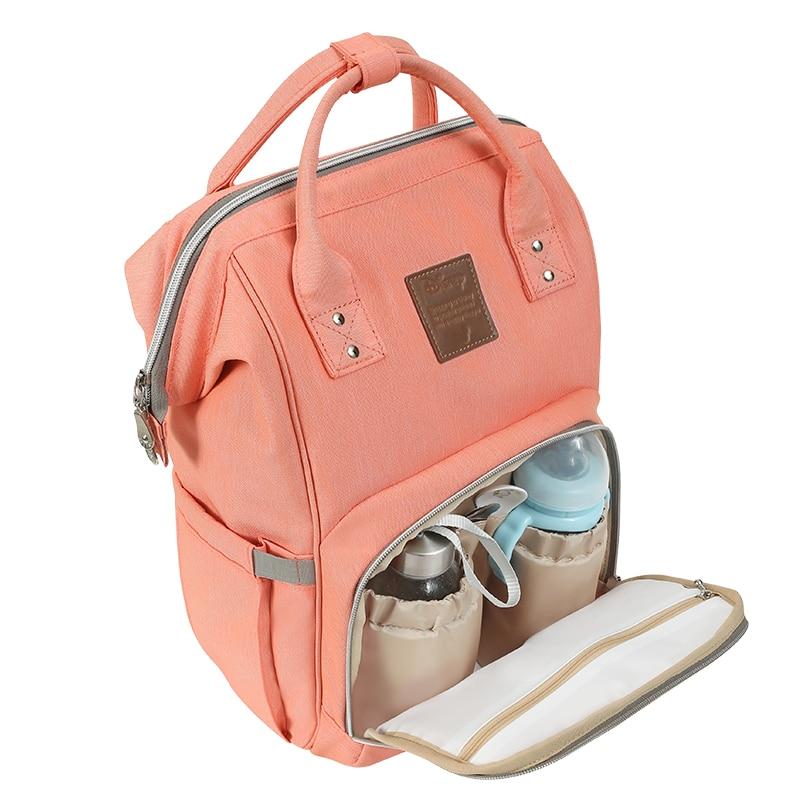 Disney bébé cartoon sac maman poussette ensoleillé colorland couche-culotte sac à dos soin biberon isolation voyage sacs 20-35L humide nappy sac