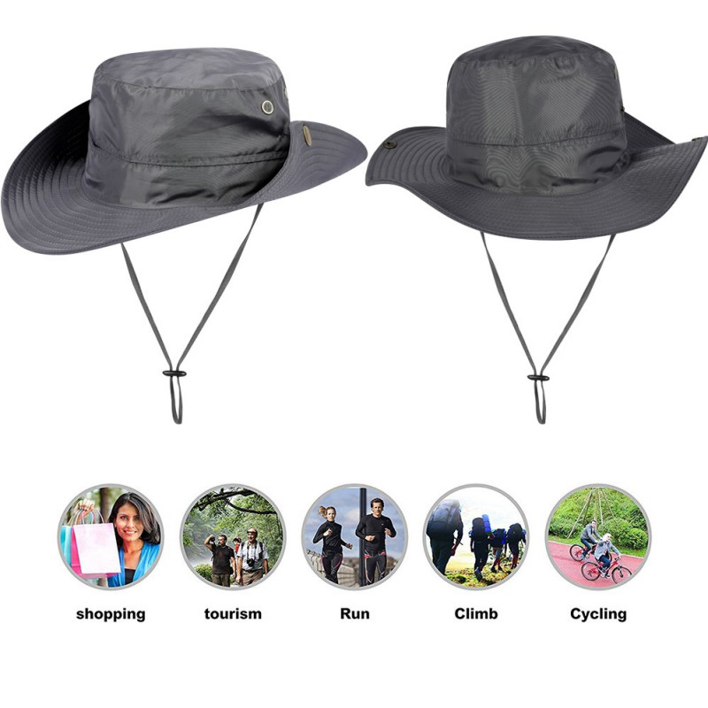 Amicable Fishing Cap Nylon Cap Wide Brim Adjustable Breathable Waterproof Sunshade Folding Sports Hat Outdoor Sportswear Accessories To Be Highly Praised And Appreciated By The Consuming Public