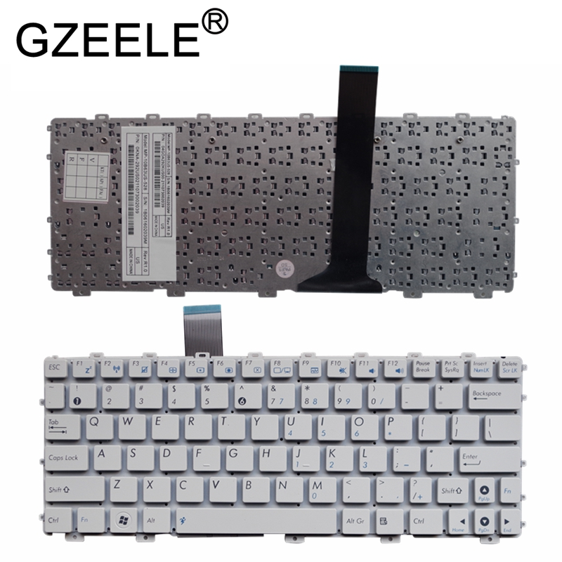 Image 4 - GZEELE NEW US laptop keyboard For Asus Eee PC EPC 1015 1015PN 1015PW 1015BX 1015PX 1015PD 1015TX 1015CX 1011PX 1011CH NO frame-in Replacement Keyboards from Computer & Office on