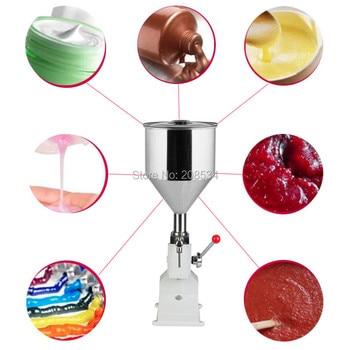 Hand cream liquid filling machine Manual filling machine for honey, paste, oil, shampoo