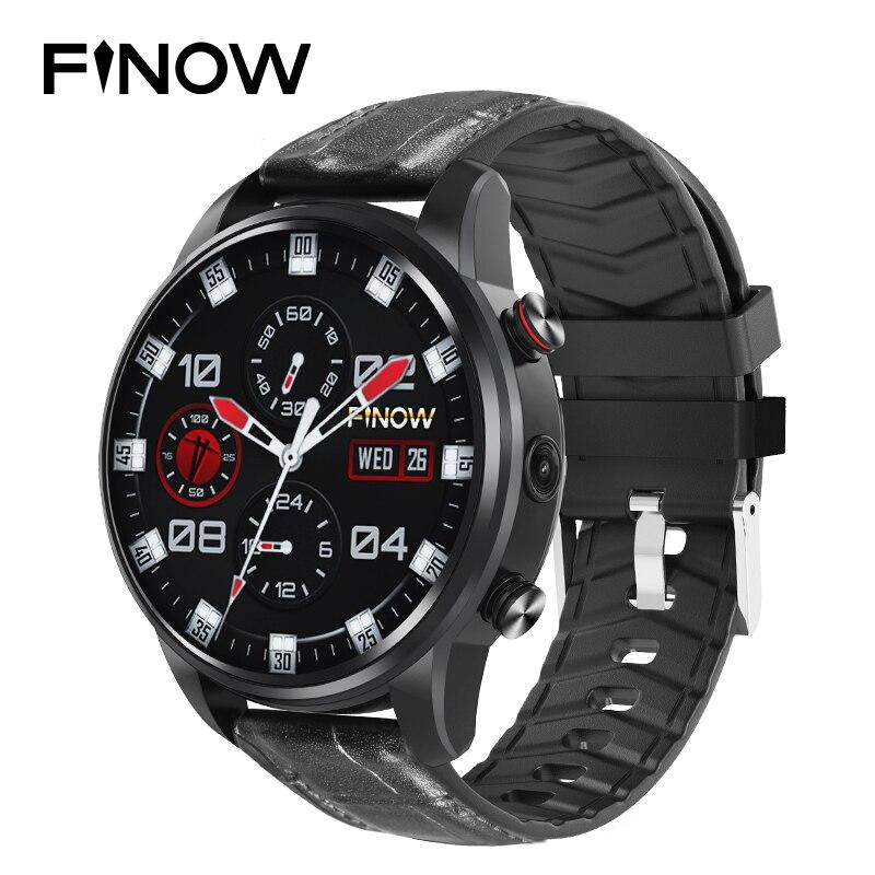 2019 New Finow X7 4G Smart Watch MTK6739 Android 7 1 Quad Core reloj inteligente For