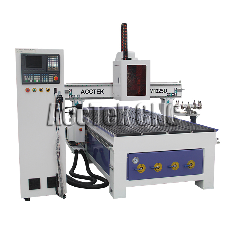 High Accuracy Cnc Router Machine Woodworking Atc Carousel Cnc Carving Machine AKM1325D