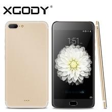 Xgody Smartphone 5,5 Zoll Quad Core 1 GB RAM + 16 GB ROM Mit 1280×720 8MP Kamera Android Telefone Celular 3G Entsperrt Handys