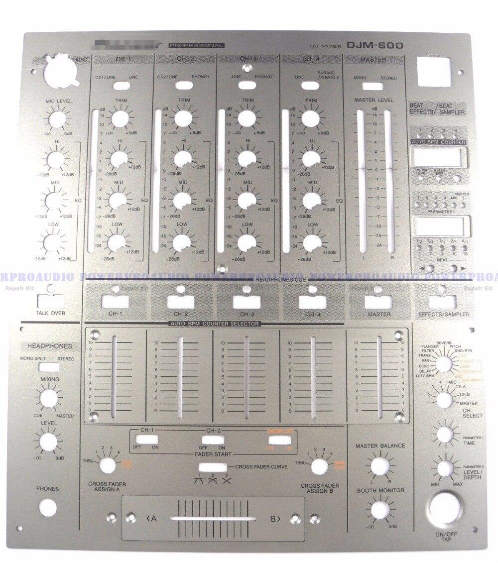 Wichtigsten Frontplatte Dnb1075 Fader Panel Dah2100, Dah2448 Ersetzen Platten Für Pioneer Djm600 Strukturelle Behinderungen