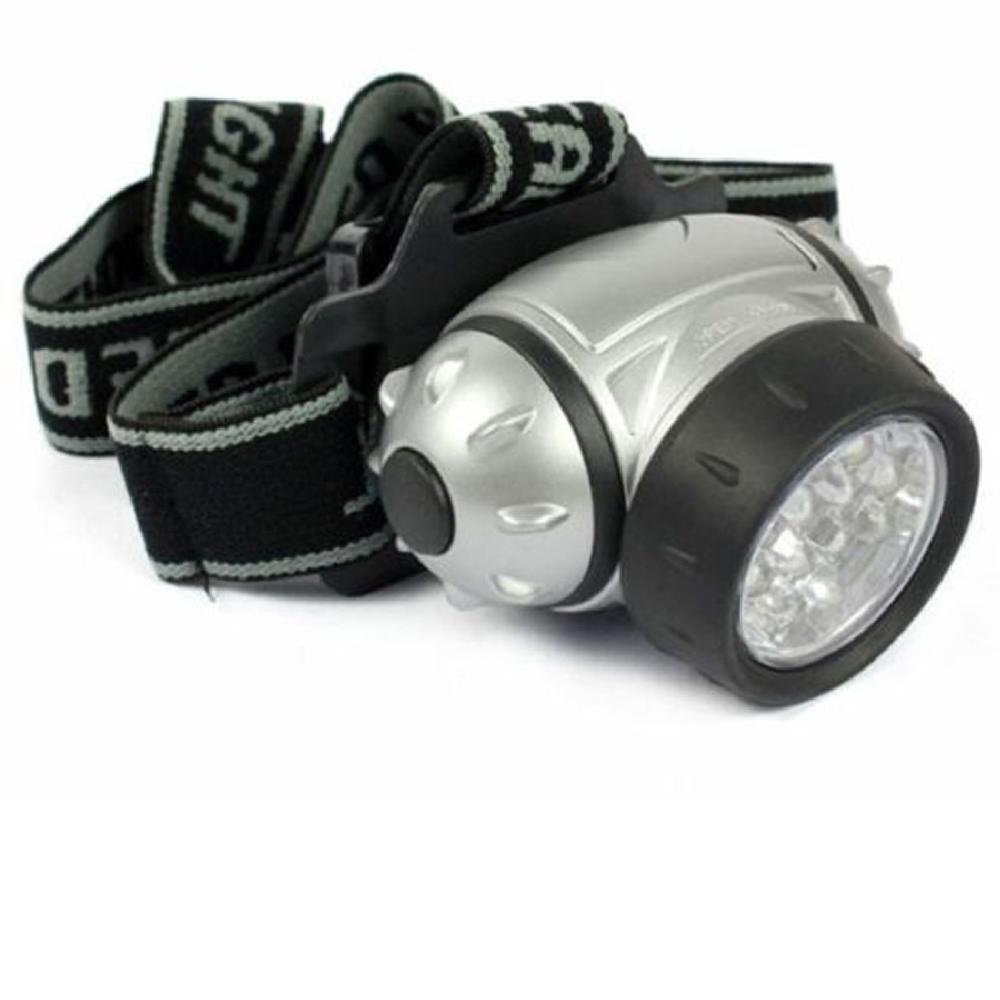Free Shipping 12 Led Bright Headlight Torch Headlamp Head