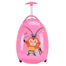 16 Inch Children's Suitcases  Kids Luggage with 2 Wheels Children ABS PC Rolling Trolley Case  Cartoon Travel Bag