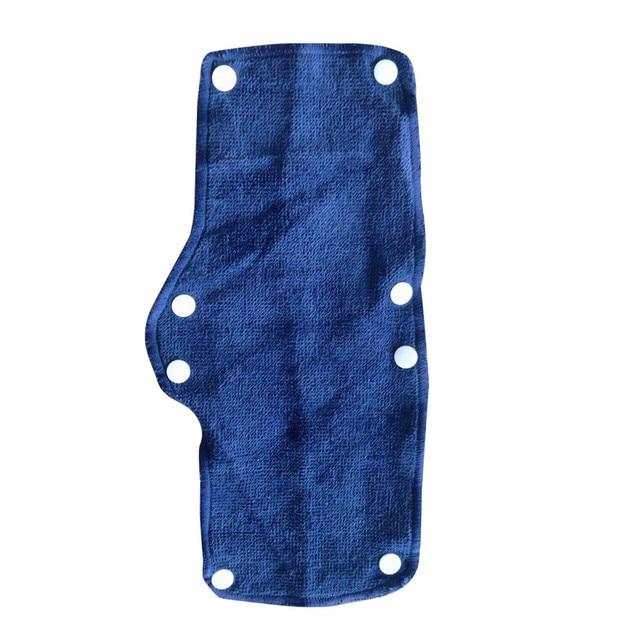 1pc Summer Selling Beat The Heat Blue Snap-on hard hat sweatband sweat belt for Safety helmet inner d90621 1