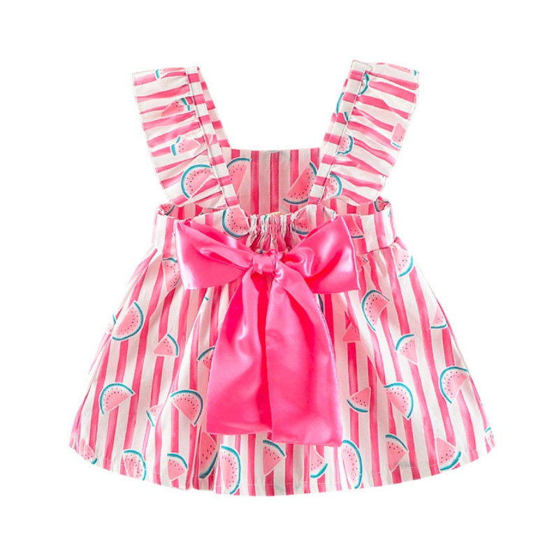 WEIXINBUY 1-3T Chidren Baby Girl Dress Girls Kid Floral Printed Casual Dresses Clothes Toddler Infant Clothing