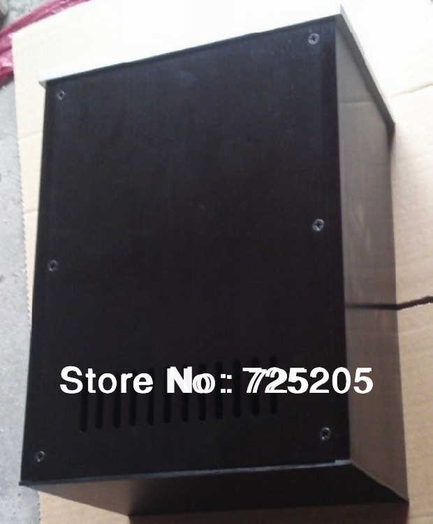 ФОТО Aluminum  Muliti-function Aluminum Case for Tube Amplifier Power Supply Internal Size D300 W216.5 H151 DIY Cut Ventilating Holes
