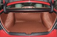 Good mats! Special trunk mats for Honda Civic Sedan 2014 2011 waterproof boot carpets cargo liner for Civic 2013,Free shipping