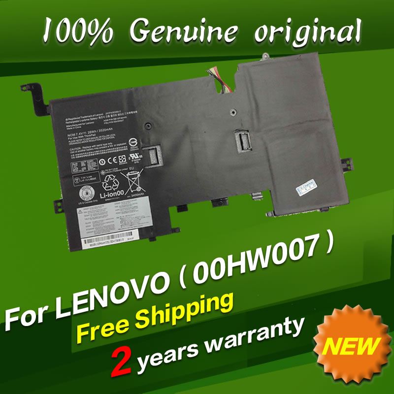 JIGU New 7.4V 26Wh 3520mAh for LENOVO THINKPAD SB10F46445 00HW007 2ICP4/63/69-2 muller of yoshio kubo футболка