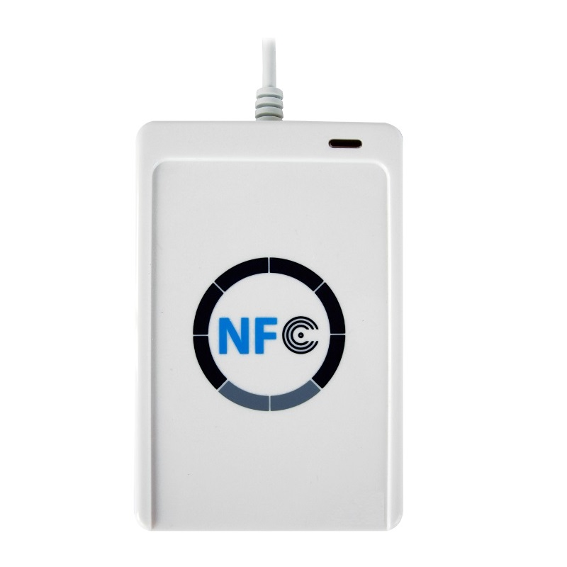 ACR122U 13.56 MHz Contactless USB NFC Rfid Reader and Writer for Windows, Mac OS Linux and Android System with Free SDK nfc contactless readers acr122u usb nfc reader