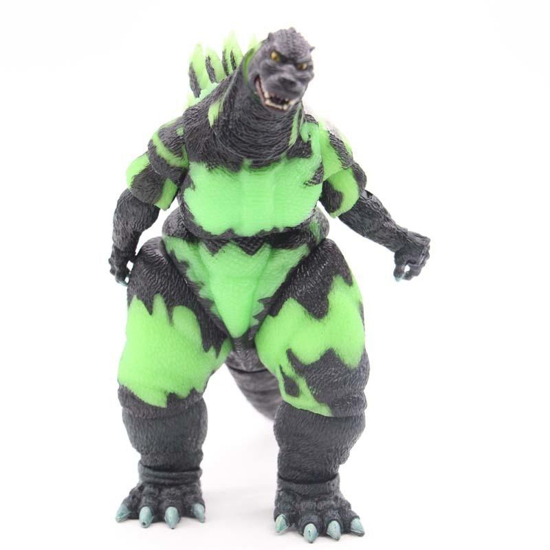NECA Godzilla Si Illumina Al Buio Action Figure Action doll PVC Figure Da Collezione Model Toy regalo neca 7 assassins creed altair ezio action figure pvc doll model collectible toy gift