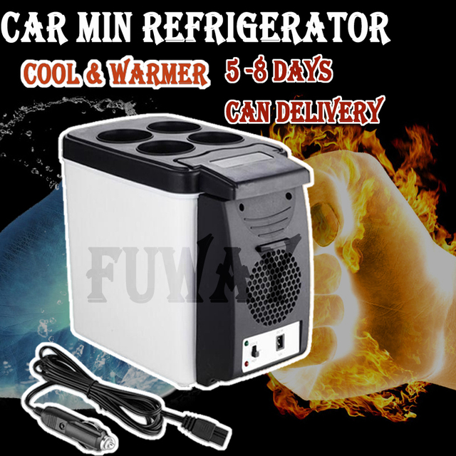 HOT SALE Portable Mini USB PC Car Laptop Fridge Cooler Mini USB PC Refrigerator Warmer Cooler Beverage Drink Cans Freezer