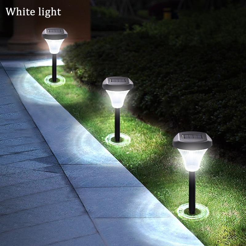 Ground Lights Upgraded Garden Pathway