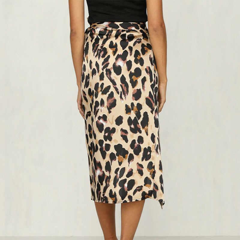 2019 модная летняя женская юбка, леопардовая повязка, купальник, бикини, накидка, прозрачная, Пляжная, миди, юбка с запахом, саронг, парео, короткая, миди