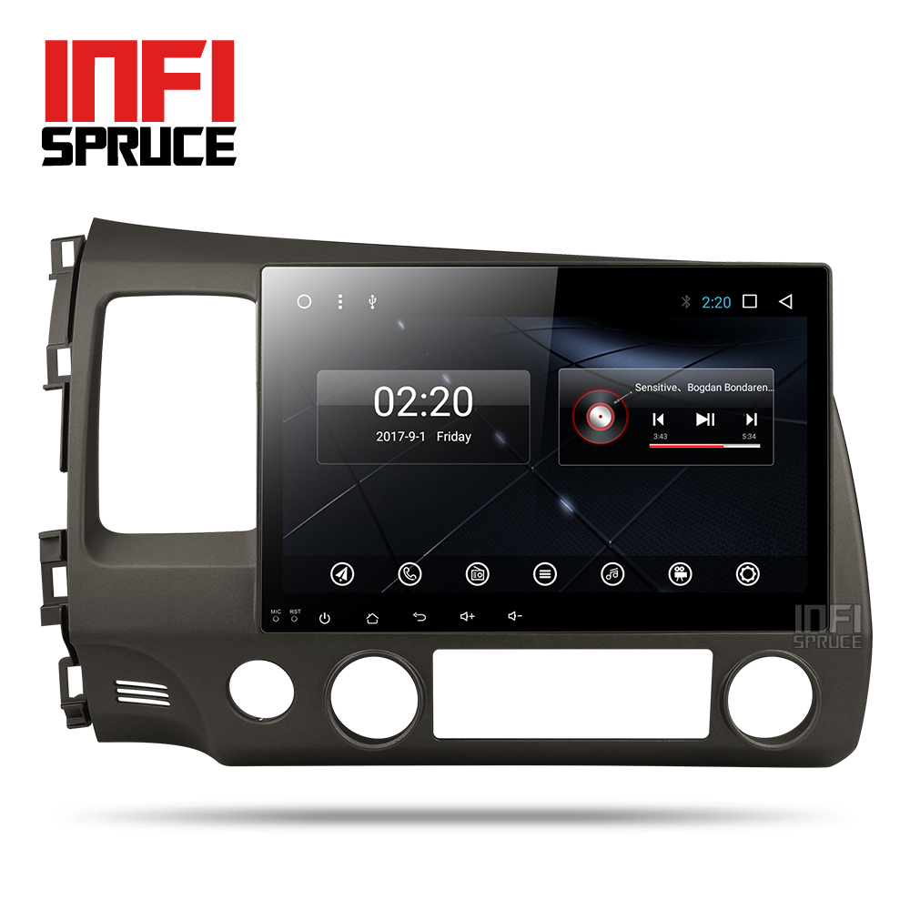 Infispruce 2G android font b car b font dvd gps player for honda civic 2006 2011