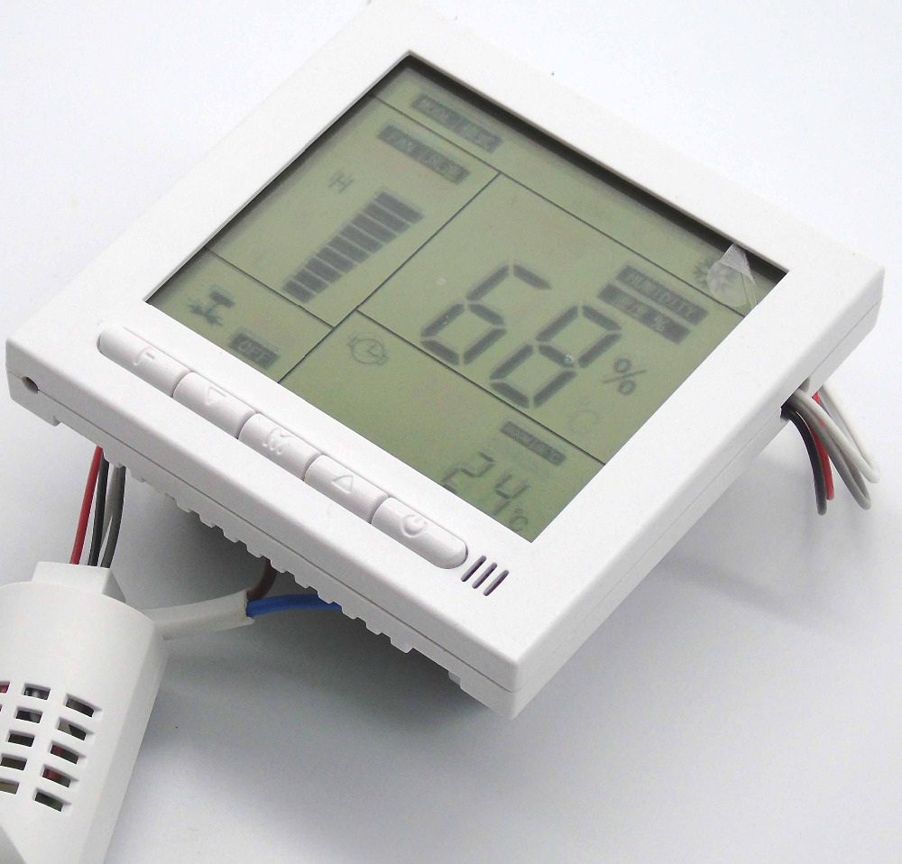 Farms pharmaceutical lab thermostat and Humidity control with Separate each control