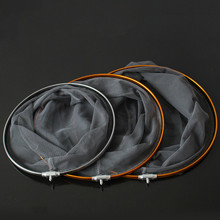 Aluminum Alloy Portable Dip Net Fishing Nets 8mm screw Fishing Network Landing Dip netting Cast Net 30cm 35cm 40cm