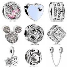 сердце necklac ожерелье; ремесло DIY; ремесло DIY; браслет Пандора серебро;
