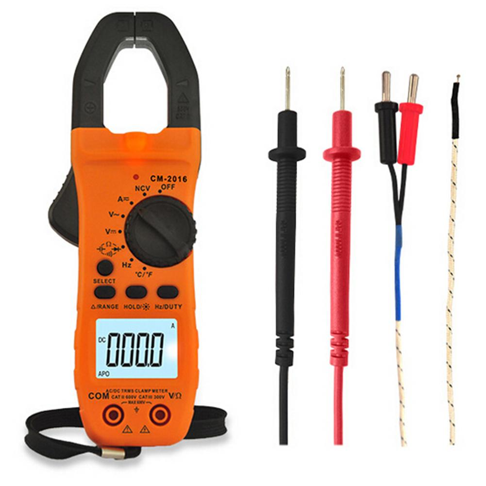 Digital AC/DC Clamp Meter NCV Clamp Multimeter Multi-Functional Electrician Clamp Flow Meter Current Voltage Resistance Tester цена