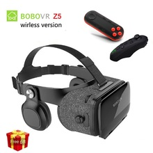 BOBOVR Z5  Virtual Reality Headset Stereo 3D Glasses Cardboard Headset Stereo 3D Glasses for 4.5-6.3′ iOS Android Mobile