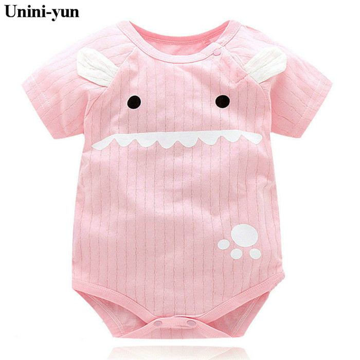 Baby   Rompers   Summer Baby Girl Clothes 2018 Baby Boys Clothing Sets Short Sleeve Newborn Baby Clothes Roupas Bebe Infant Jumpsuit