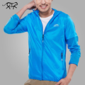 2017 Spring Brand Windbreaker Men and Women Jackets Windproof Jacket Quickdrying Unisex Sun protection Jacket Thin