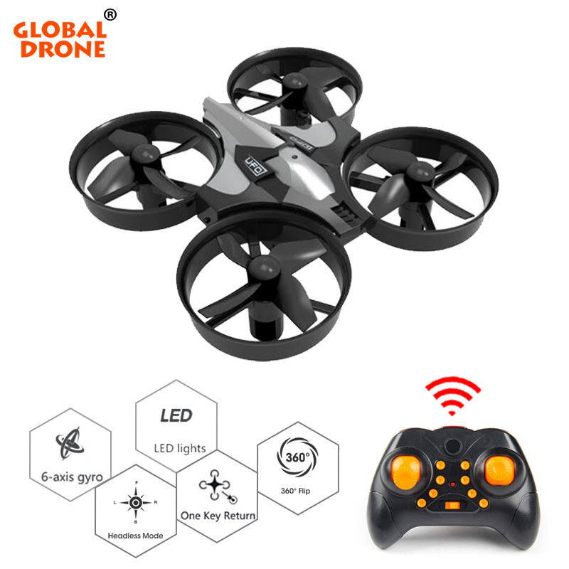 Global Drone Mini Drone 6 Axis Gyro 2.4G 4CH Micro Drone RC Helicopter VS JJRC H36 Headless Mode Pocket Quadcopter Dron global drone rc drone micro pocket dron 4ch 6axis gyro switchable controller mini quadcopter rtf rc helicopter with sd card