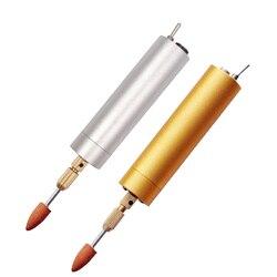 Wysokiej jakości wielofunkcyjne USB akumulator pióra wiertarka elektryczna maszyna do cięcia grawerowania narzędzia DIY aluminium etui ze stopu narzędzie w Wiertarki elektryczne od Narzędzia na