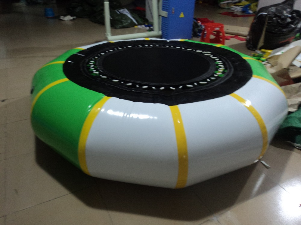 green water trampoline factory price