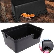 Ящик для рептилий, чехол с отверстием для хранения воды, кормушка паук черепаха, змея, принадлежности для сороконожки