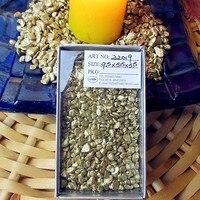 Potted Ornamental Gardening Supplies Tiny Color Stone Fairy Garden Decorative Gold Mini Gravel Decorative Accessories 200