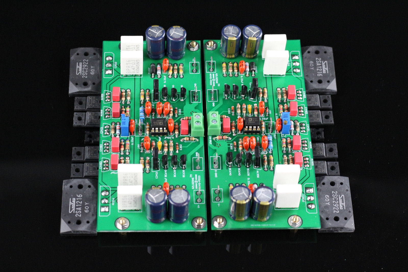 ZEROZONE One Pair Assembeld HM4S HIFI Power Amplifier Board Base On Burmester 933 Amplifier turck proximity switch bi2 g12sk an6x