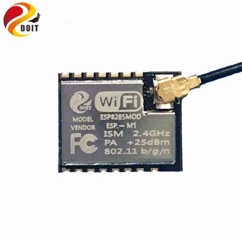 DOIT 5kpl / pack Mini Erittäin pieni ESP-M1 -sarja langaton WiFi-lähetysmoduuli, täysin yhteensopiva ESP8266: n kanssa